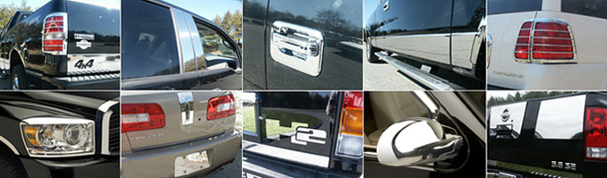 Chrome Accessories For Your 2005 Mitsubishi Endeavor