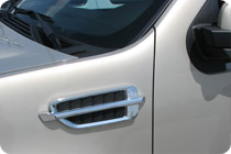 Chrome Fender Vents