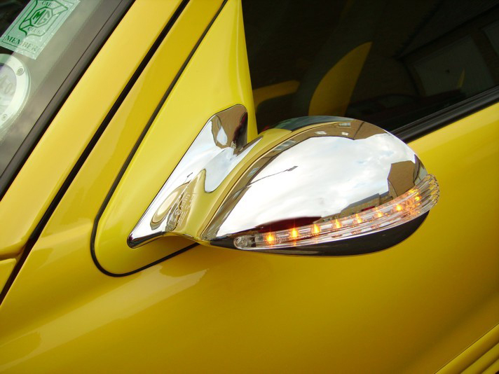 Chrome Mirror Covers For Your 2009 Jaguar Xf